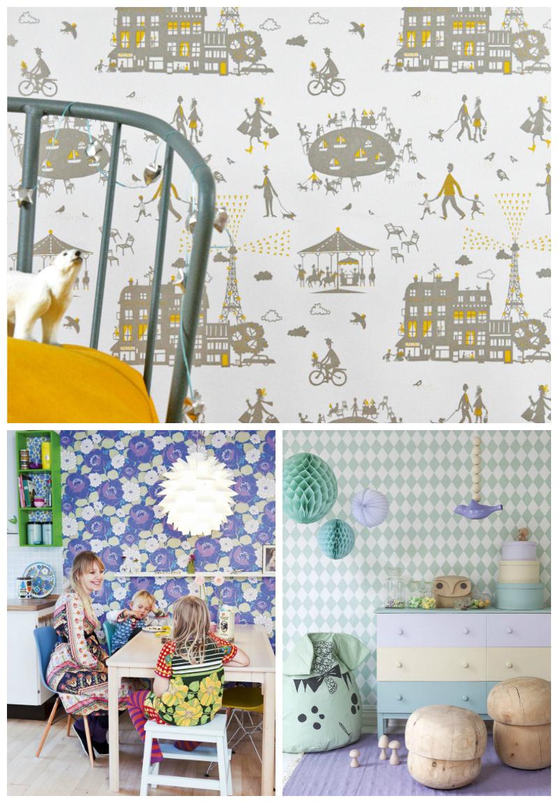 Kids Wallpapers For Bedroom Children S Room Wallpaper Wallpapersafari