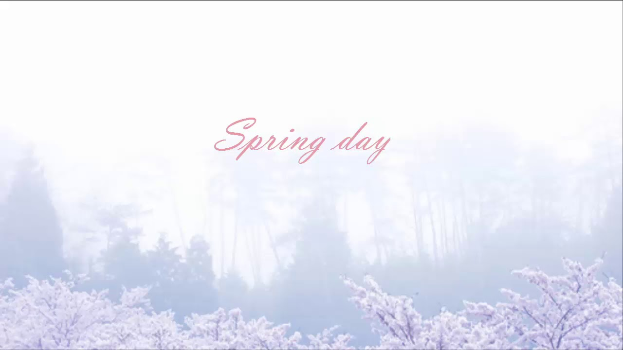 Download Bts Spring Day Wallpaper HD Backgrounds Download   itlcat 1280x720