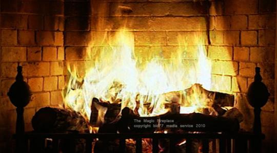 Fireplace Screensaver Fireplace screensaver 540x299