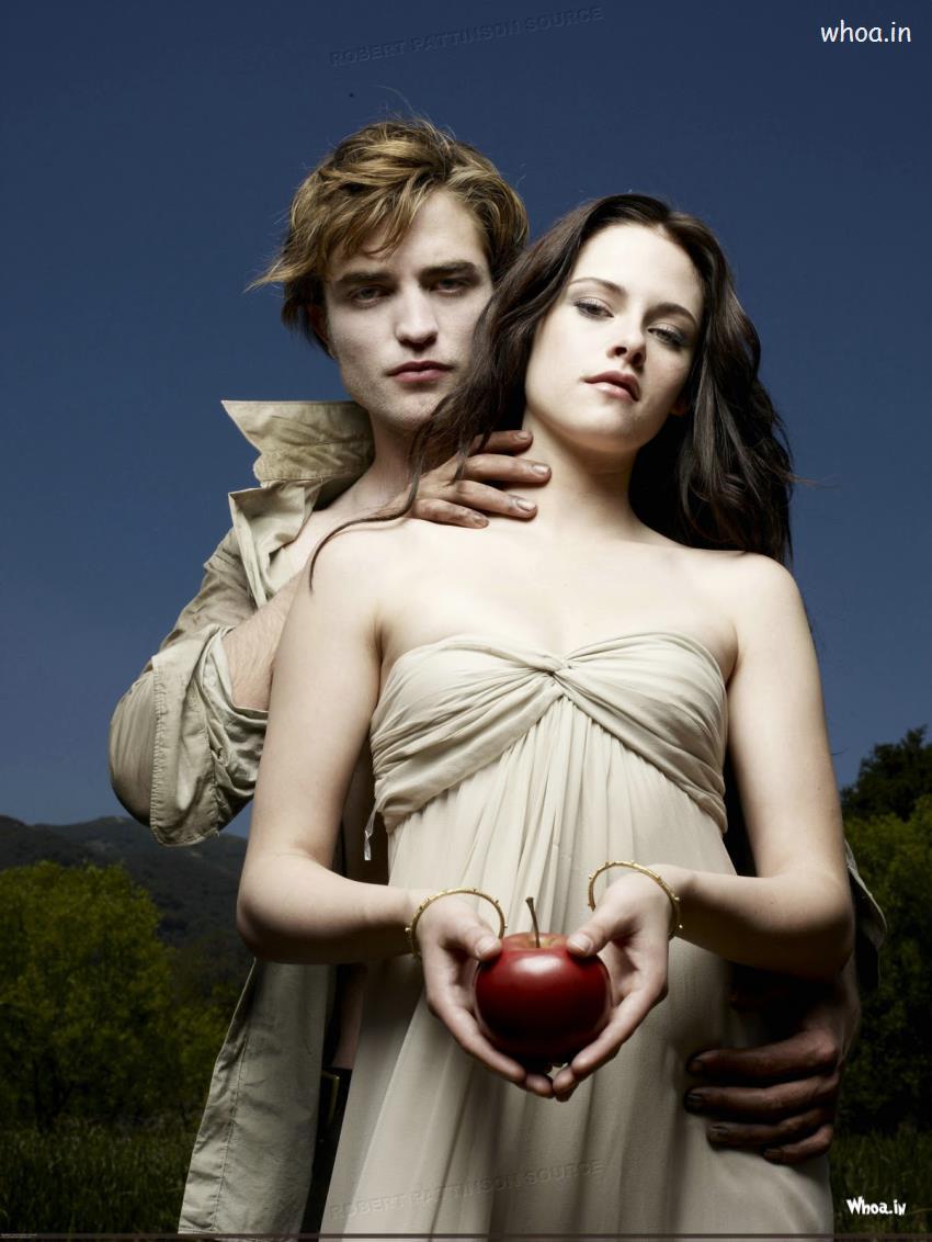 Twilight Saga Couple Wallpaper 850x1132