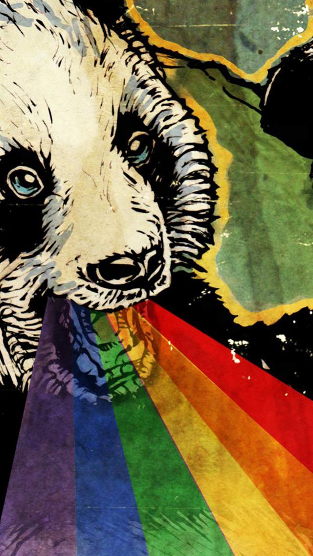 Panda iPhone 5 Wallpaper 640x1136 640x1136