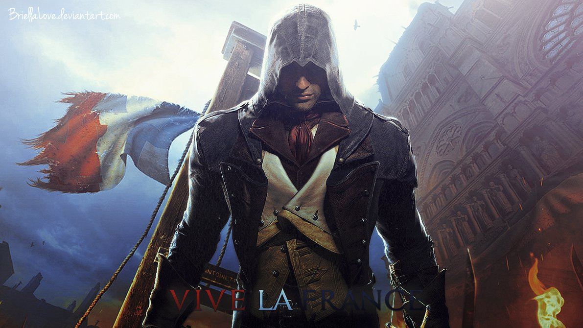 Assassins Creed Unity Wallpaper by BriellaLove 1191x670