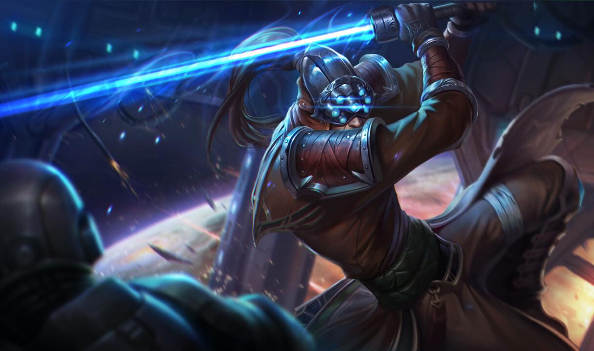 Chosen Master Yi League of Legends LoL Champion Skin on MOBAFire 1215x717
