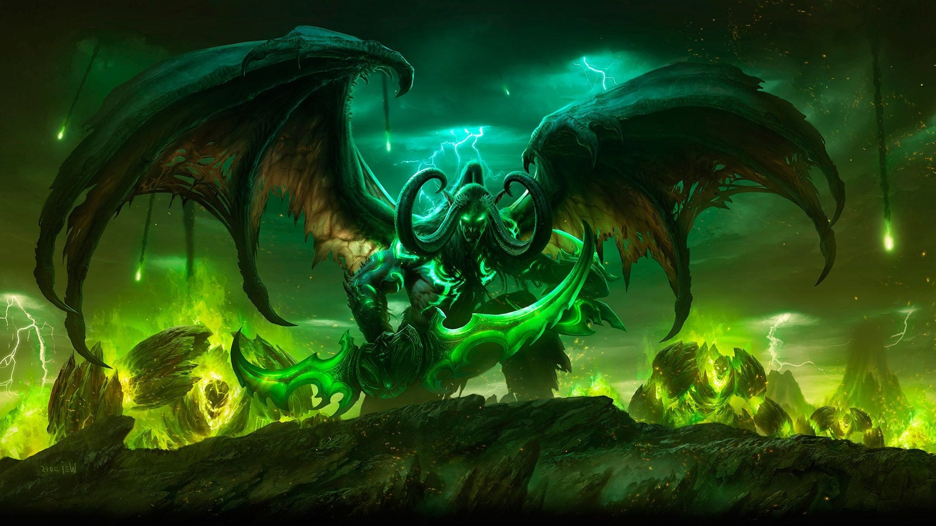 Wow Legion Wallpaper Wallpapersafari