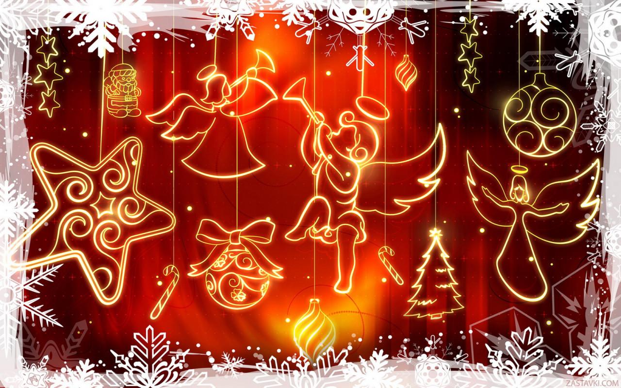 wallpaper christmas themes
