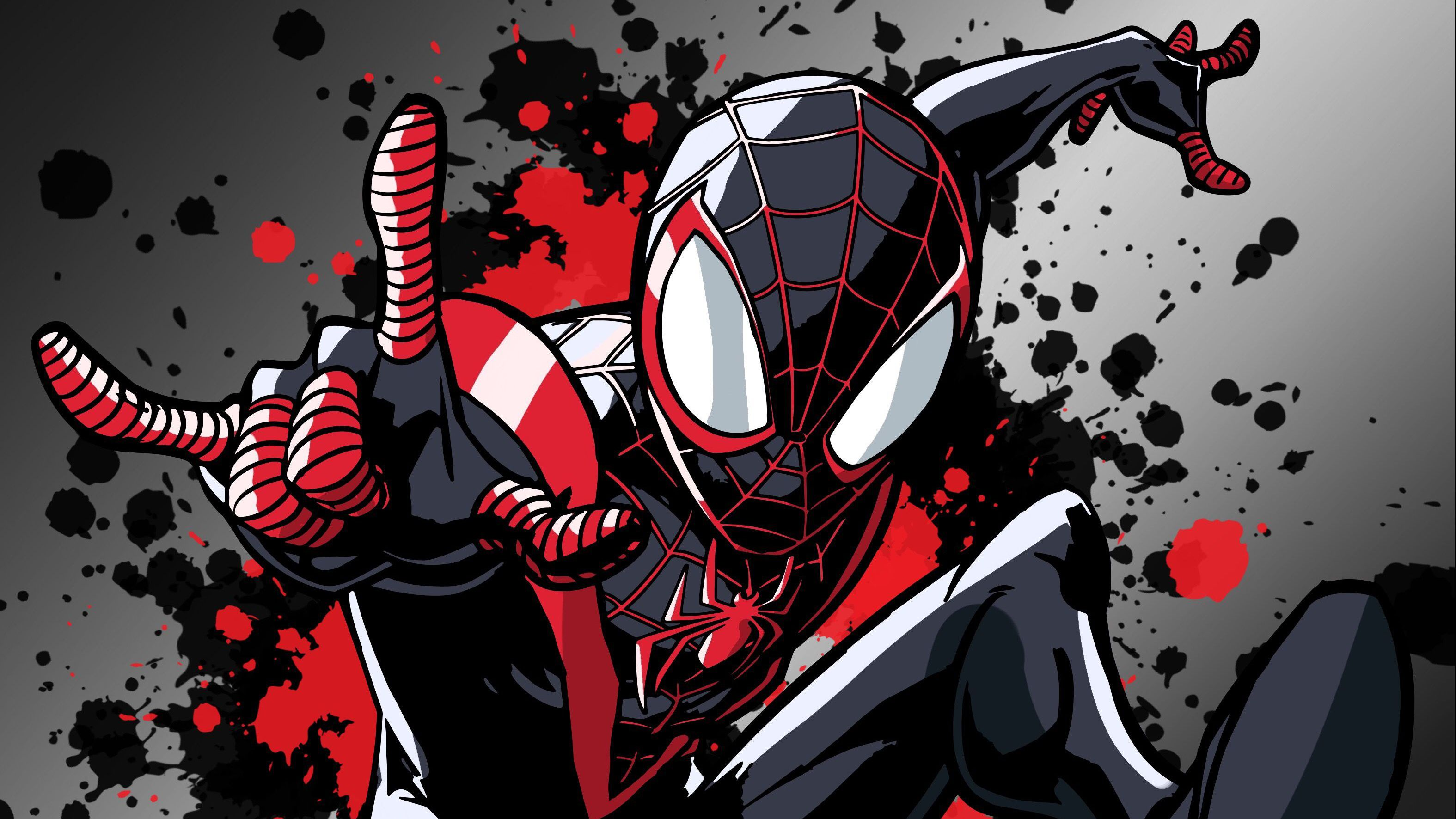 Miles Morales Spider Man Wallpapers   Top Miles Morales 3150x1772