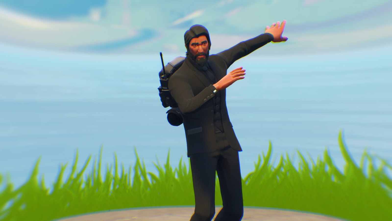 Fortnite John Wick dab wallpaper   Album on Imgur 1600x900