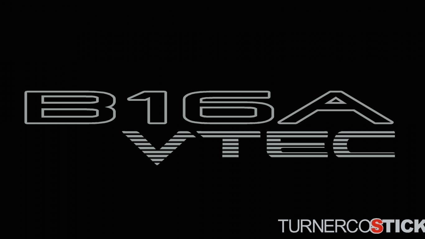 download 2x B16A VTEC honda stickers Decals For DOHC Honda 1366x768