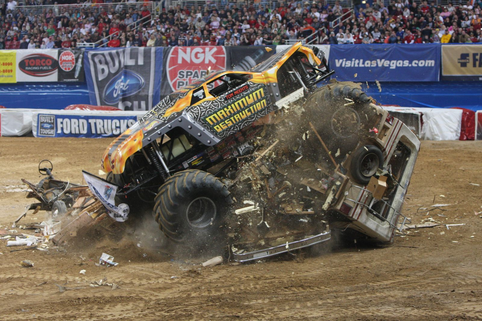 Monster Trucks Wallpapers StLouis 20080216 Wallpaper View 1600x1067