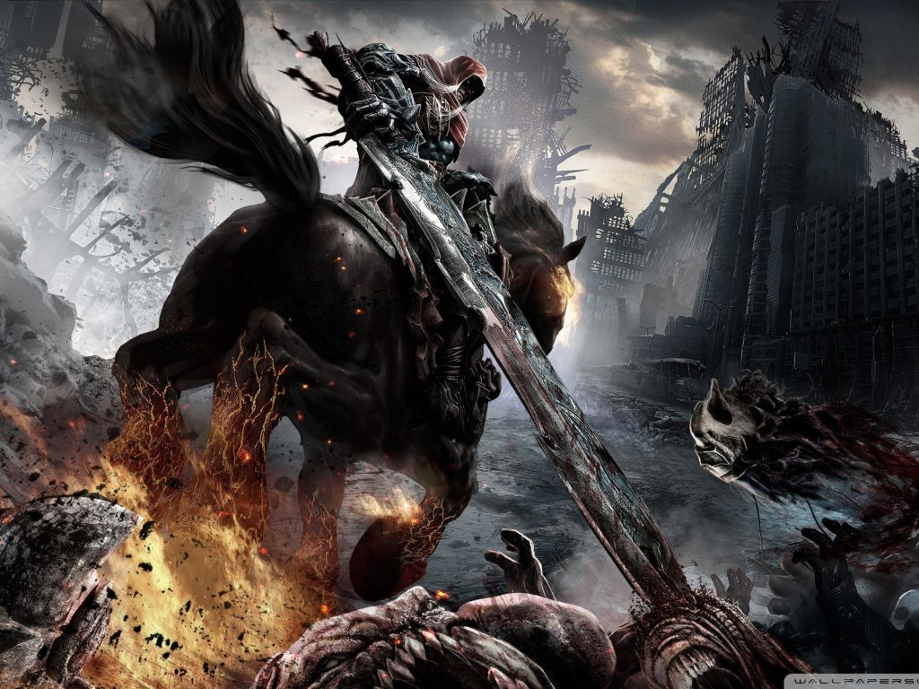 Fondo de Pantalla Darksiders   Wallpapers HQ 1080p 1024x768