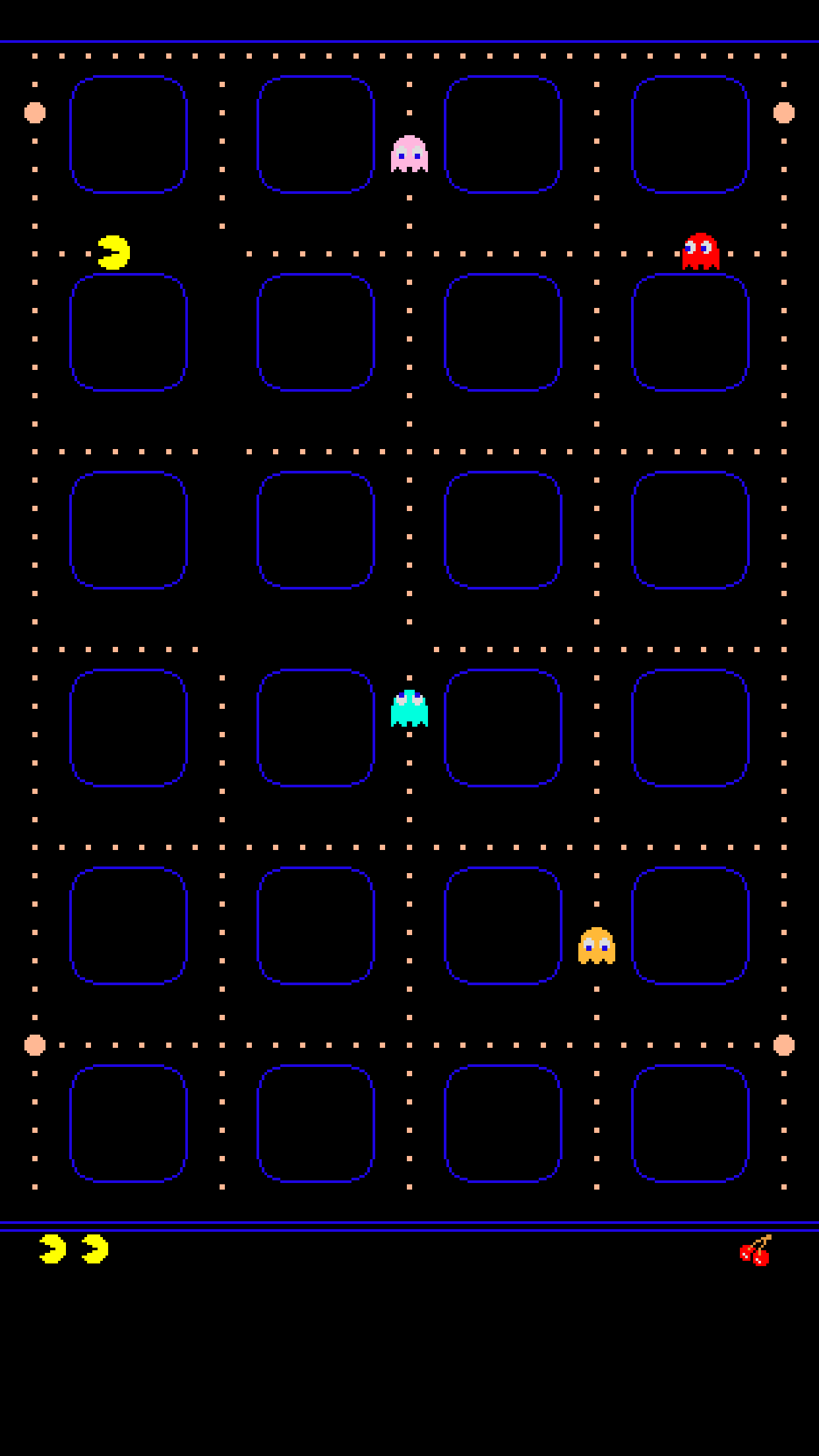 Pac Man iPhone Wallpaper Jeffrey Carl Fadens Blog 1242x2208