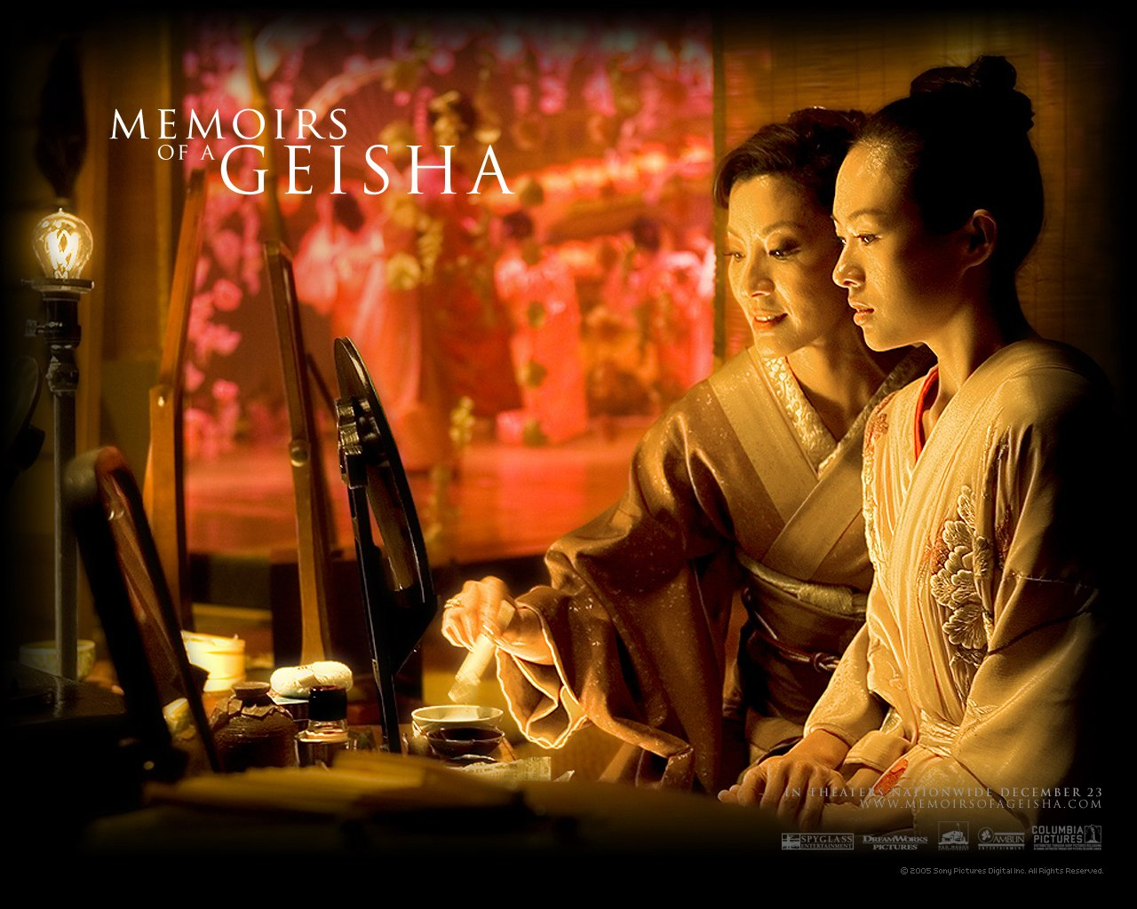 Memoirs of a Geisha 2005 wallpaper   FreeMovieWallpapersorg 1280x1024