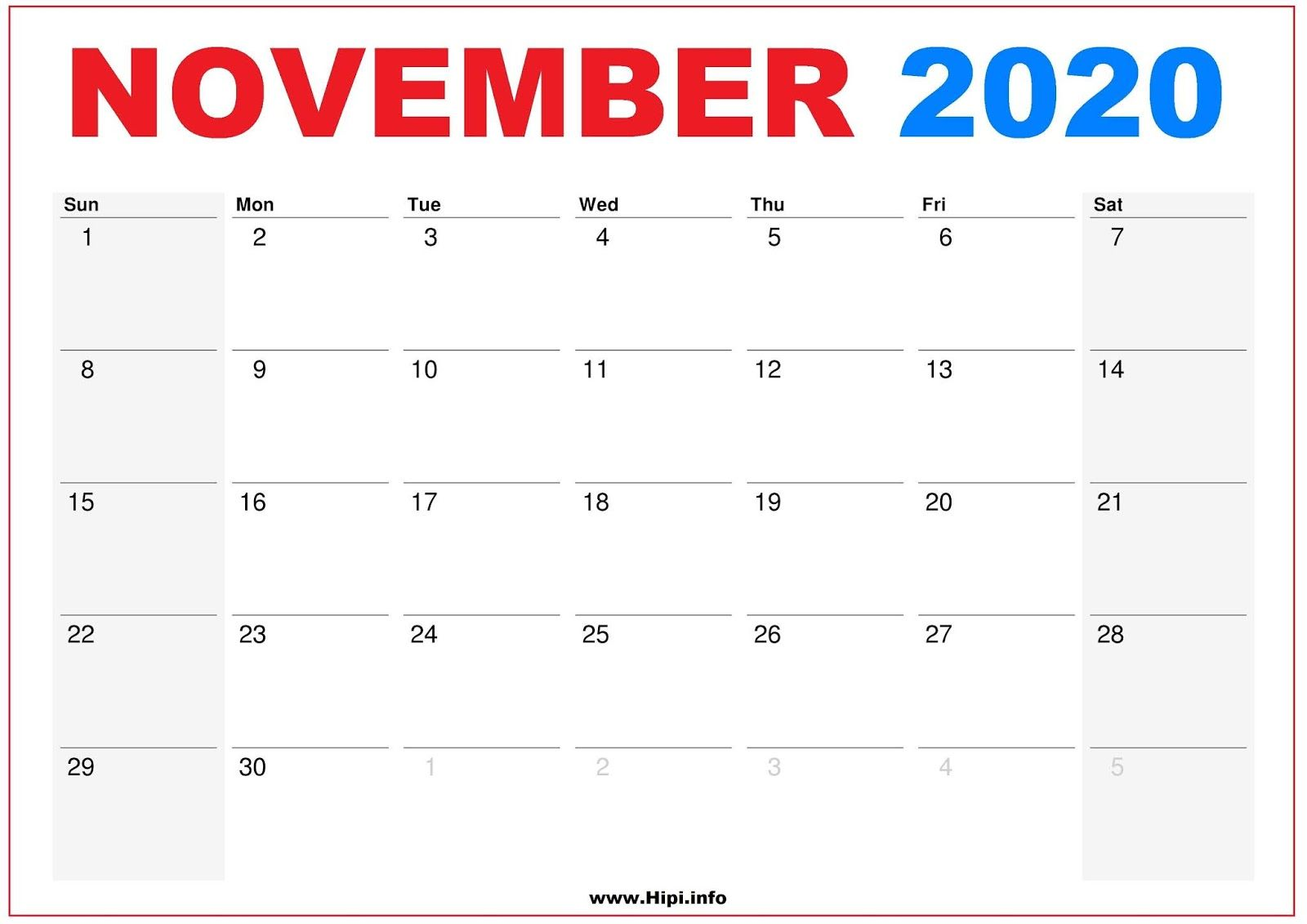November 2020 Calendar Wallpapers   Top November 2020 1600x1131