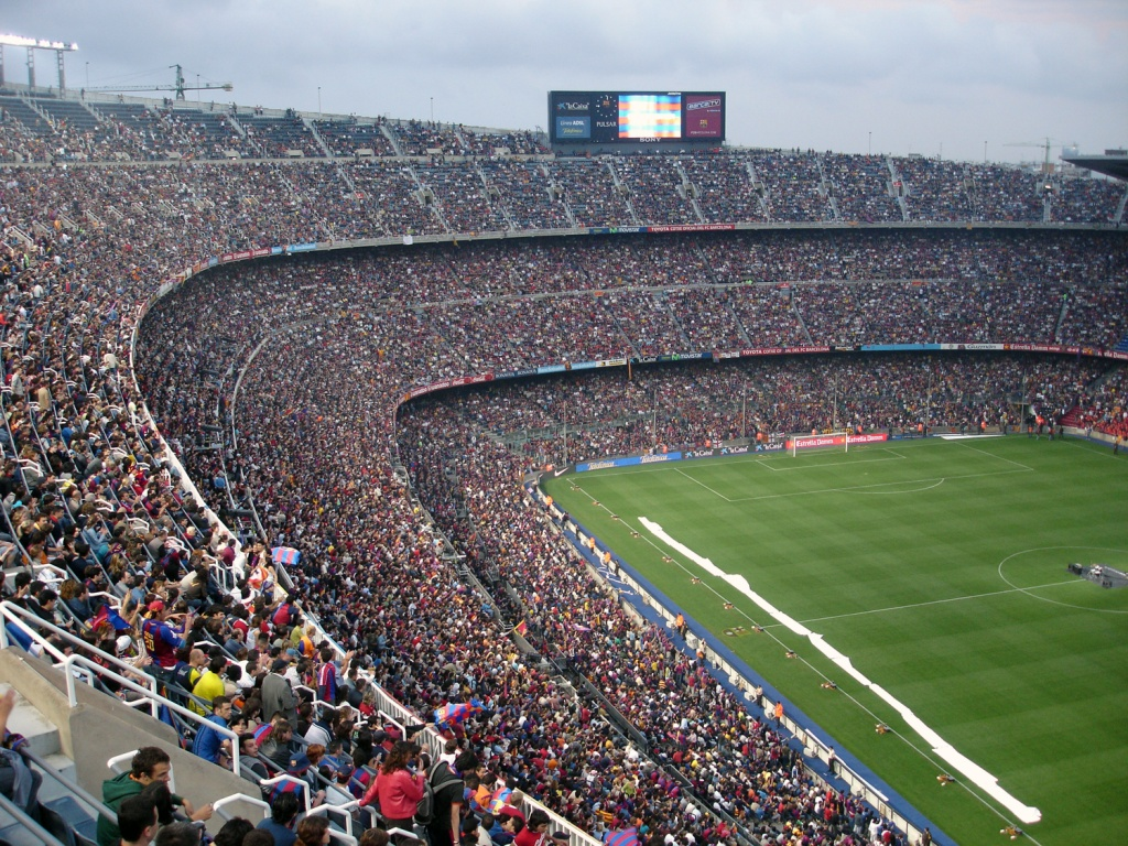 Camp Nou Stadium Wallpaper   Barcelona Stadium 1024x768