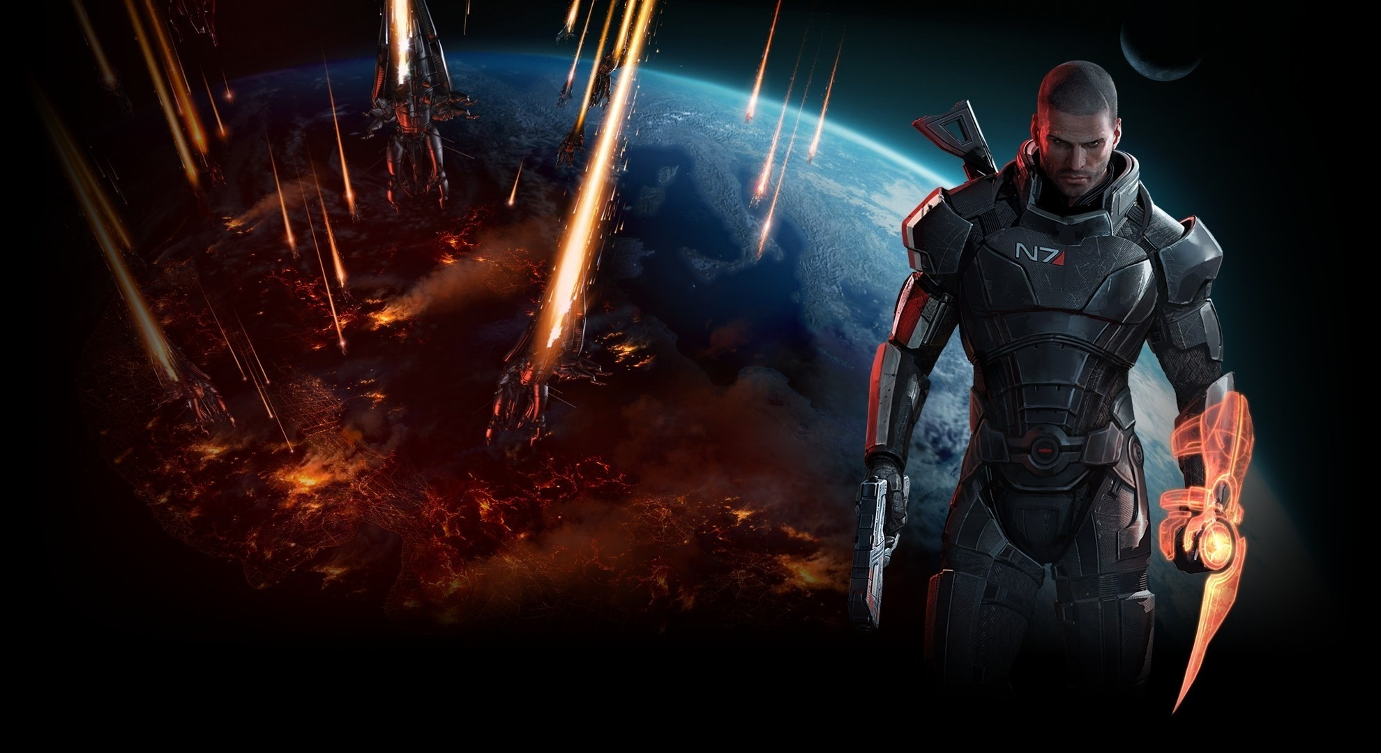 Free Download Mass Effect 3 Wallpaperhd 108p 1920x1080 Captain