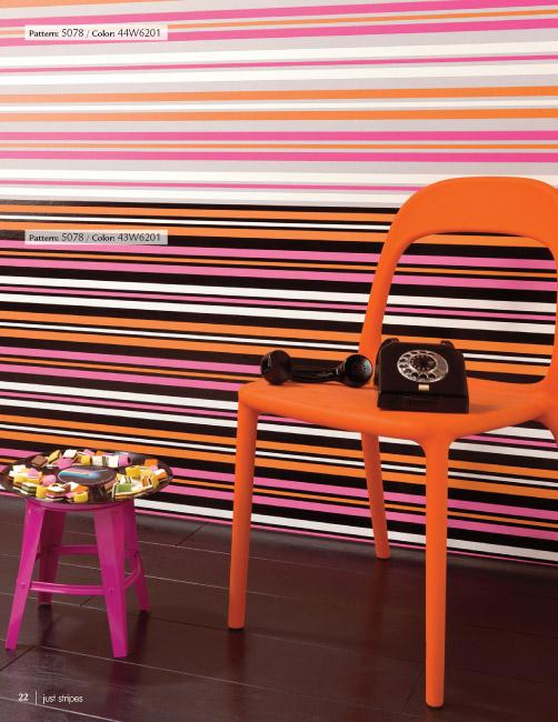 Designer Wallpaper   Just Stripes Wallpaper Collection 502x650