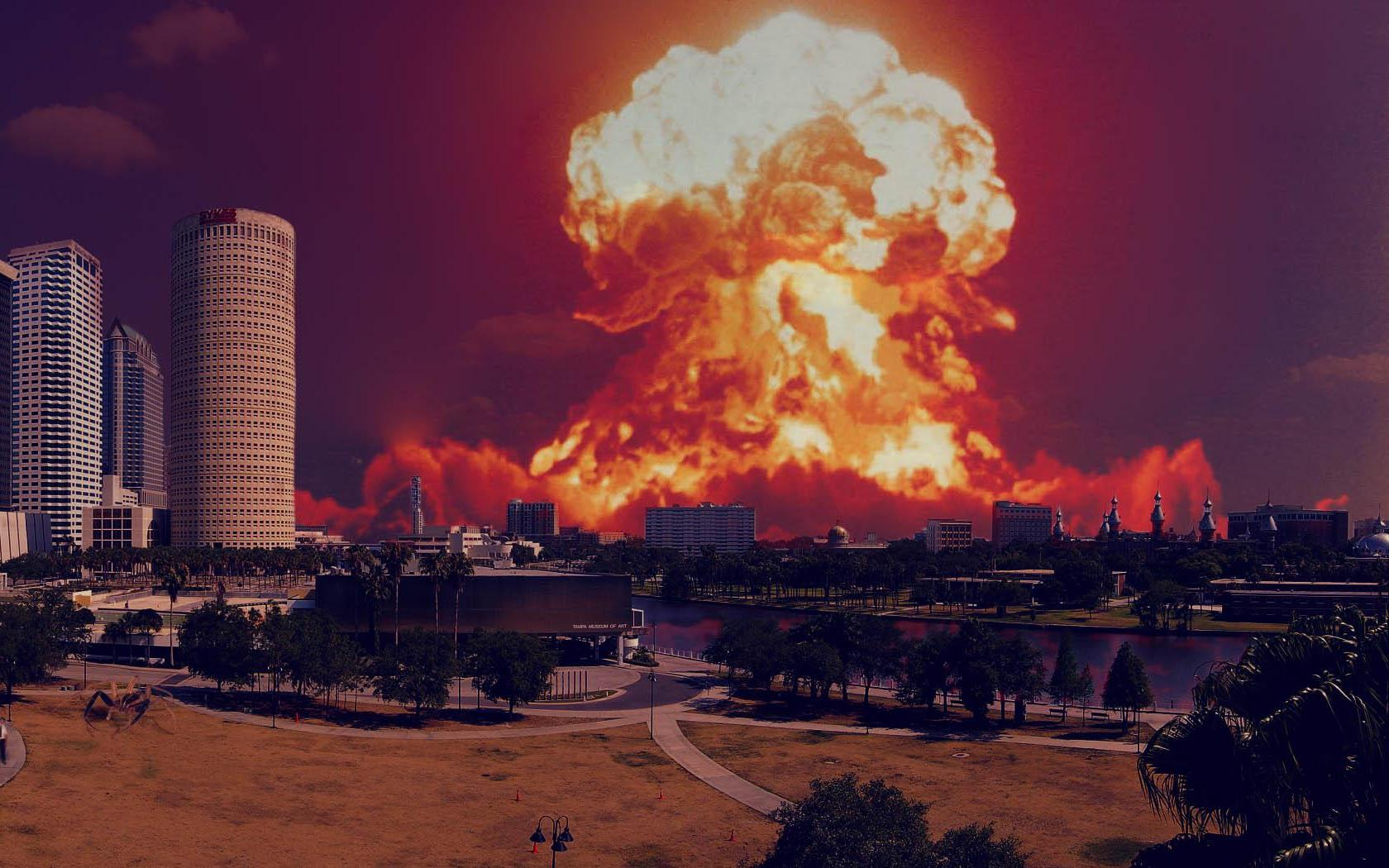 Nuclear Explosion Wallpaper HD - WallpaperSafari