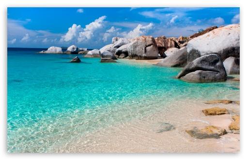 Summer Beach Scene HD desktop wallpaper High Definition Fullscreen 510x330