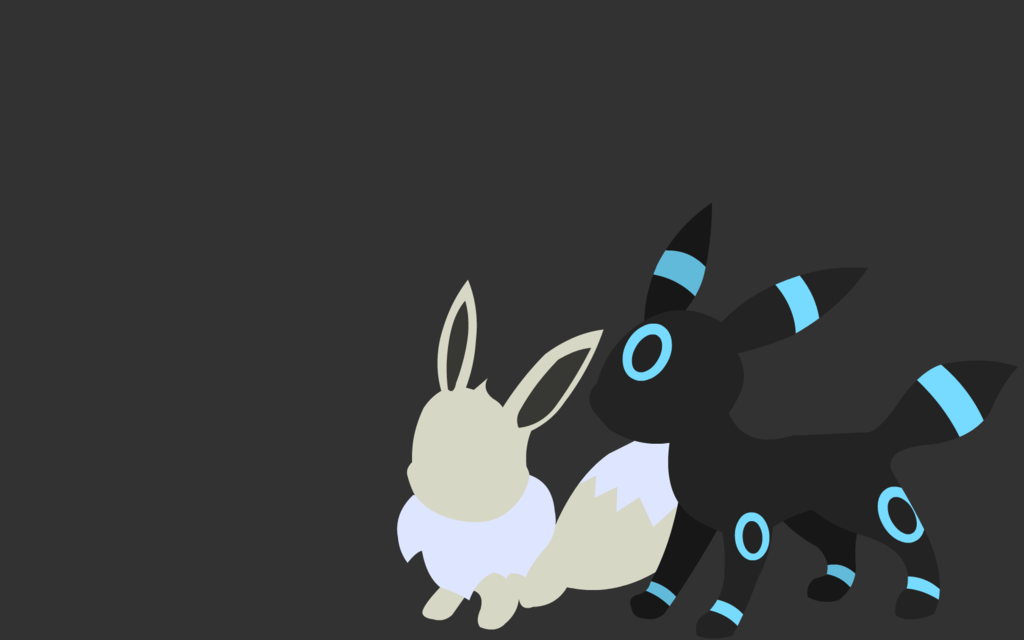 shiny umbreon and eevee wallpaper by alicesstudio d61ogjjpng 1024x640