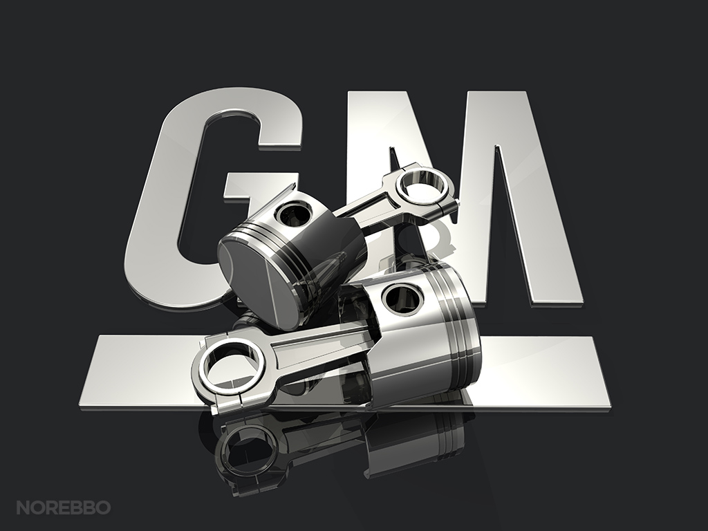 Stock illustrations featuring the GM General Motors logo Norebbo 1024x768