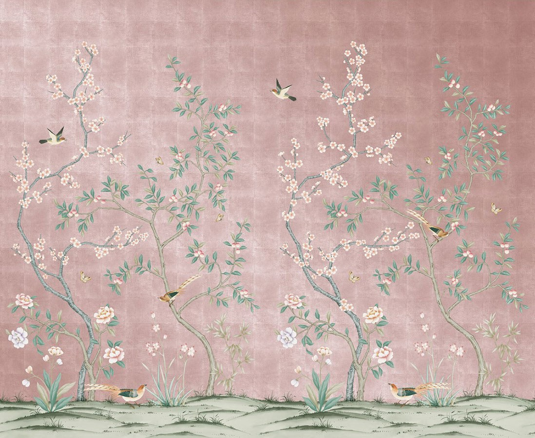 Affordable Temporary Chinoiserie Wallpaper   Vogue 1098x900