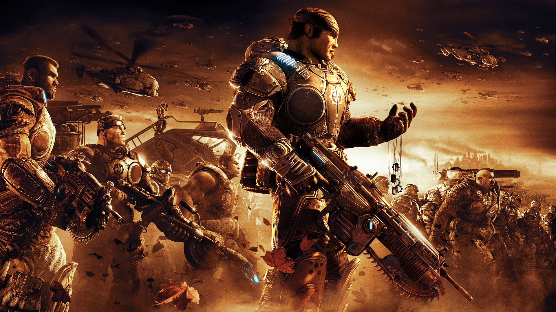 Gears of War 2 desktop wallpaper 1920x1080