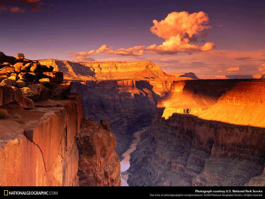 National Geographic presents The Grand Canyon sponsored by Nature 1024x768