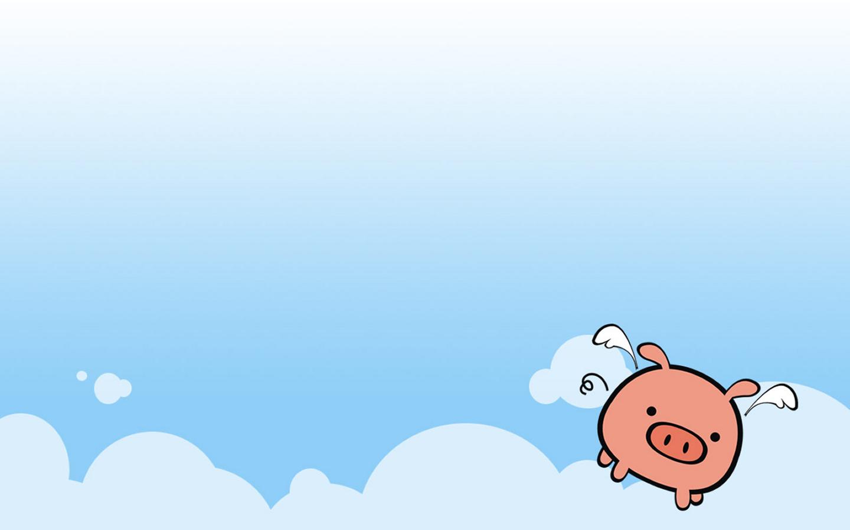 Wings Pig Wallpaper 1440x900 Wings Pig 1440x900