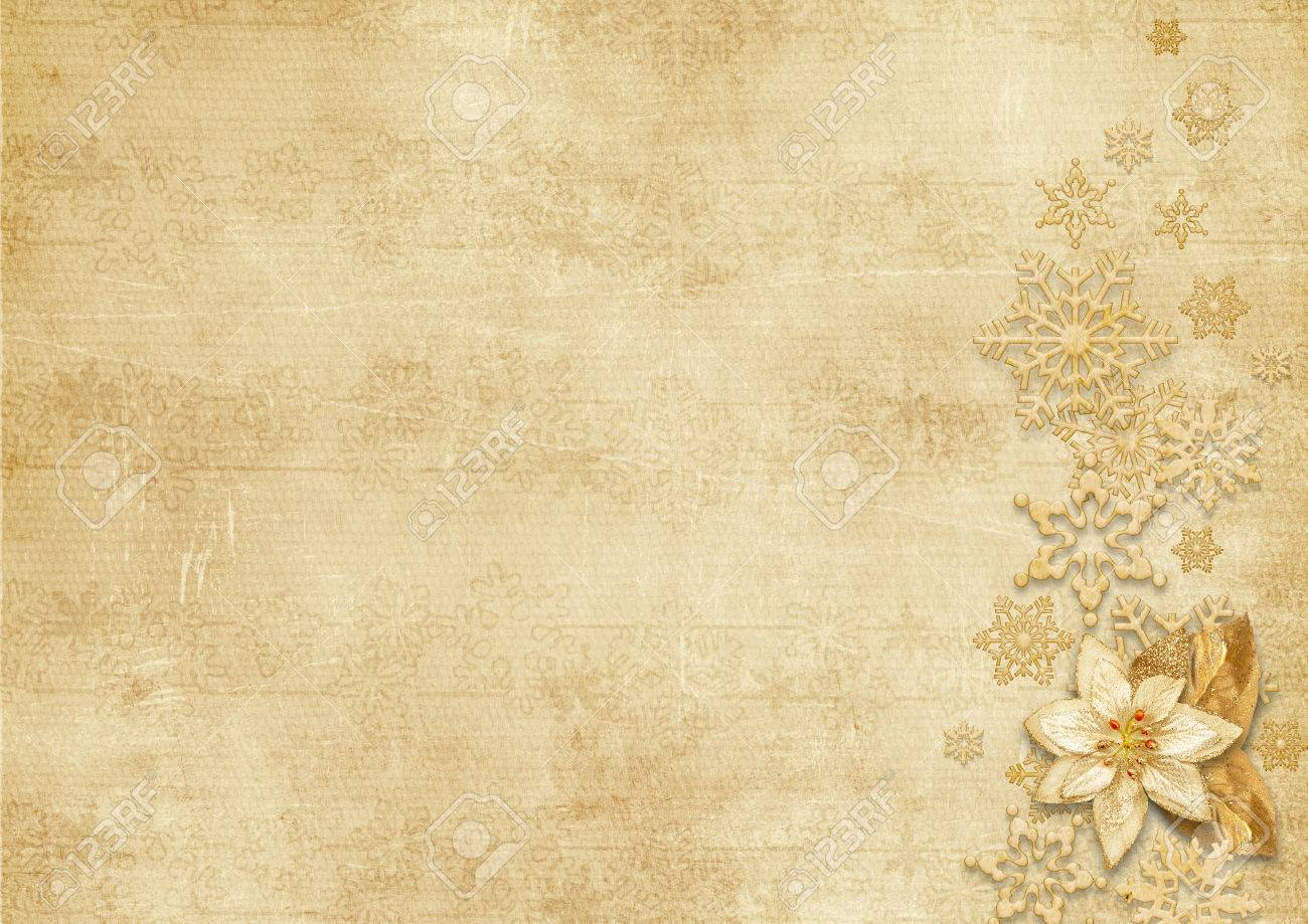 Christmas Vintage Background With Snowflakes Stock Photo Picture 1300x919