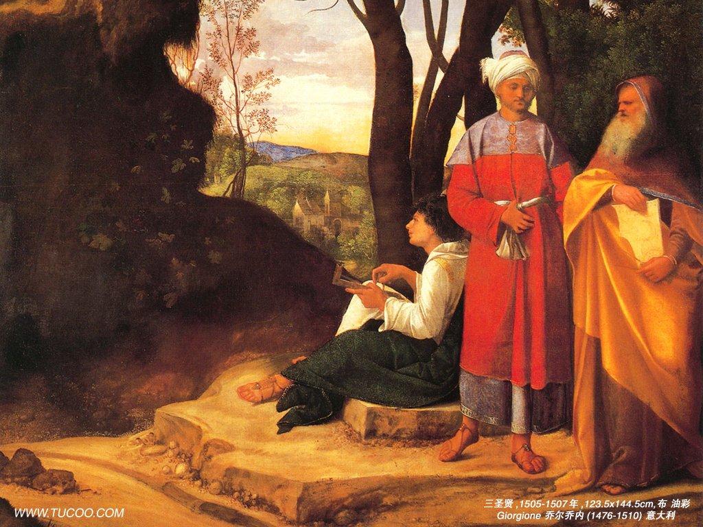 Fine Art   Renaissance Paintings   Giorgione Paintings 1024768 NO3 1024x768