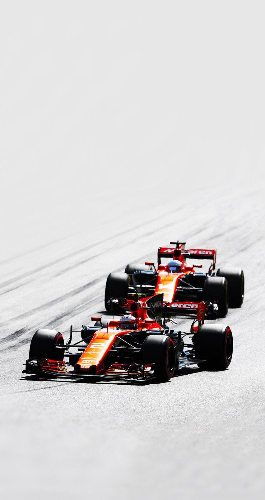McLaren Honda F1 phone wallpaper 852x1608