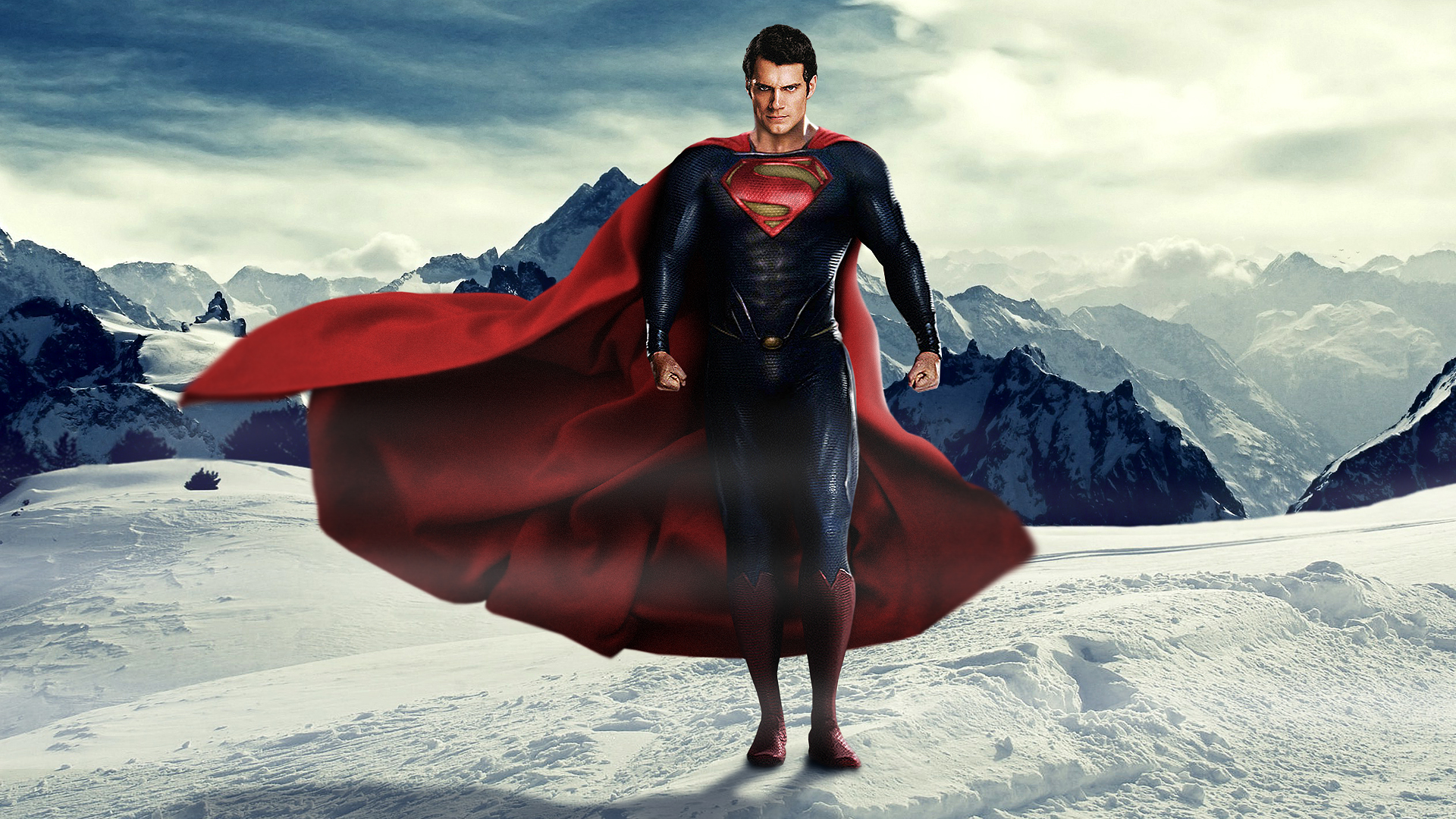 Man of Steel   Superman Wallpaper 02 by LoganChico 1920x1080