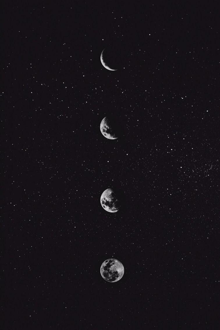 Aesthetic Moon Wallpapers   Top Aesthetic Moon Backgrounds 756x1136