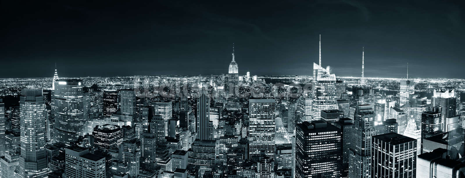 Manhattan Skyline Wall Mural New York Manhattan Skyline Wallpaper 1600x613
