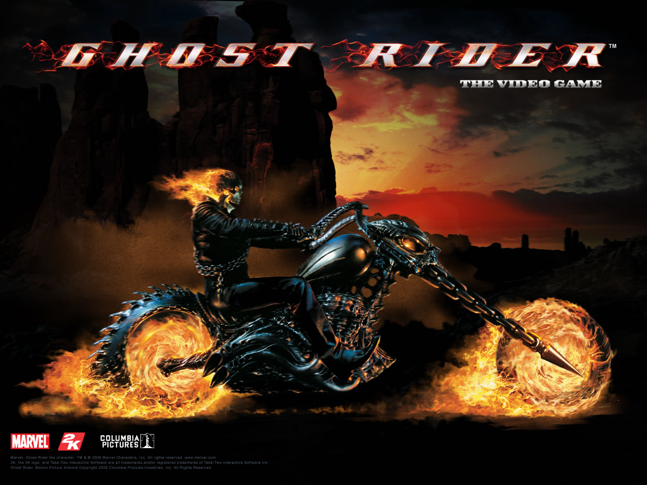 Stunt Rider  Ghost Rider Wallpaper Gallery   Best Game Wallpapers 1280x960