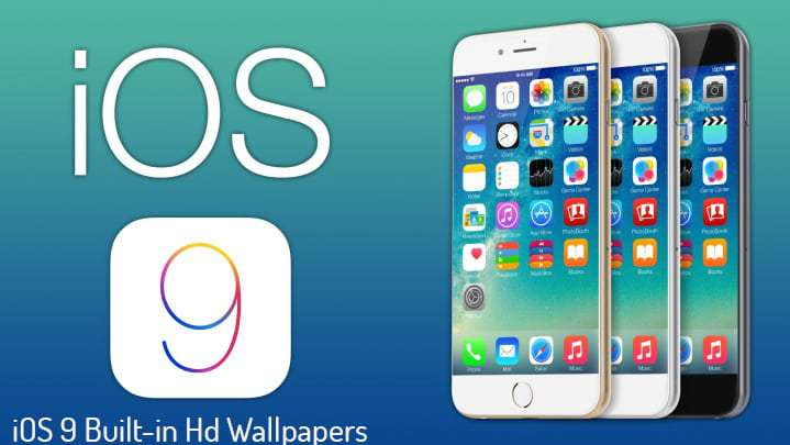 iOS 9 Built in Hd Wallpapers Download 719x405