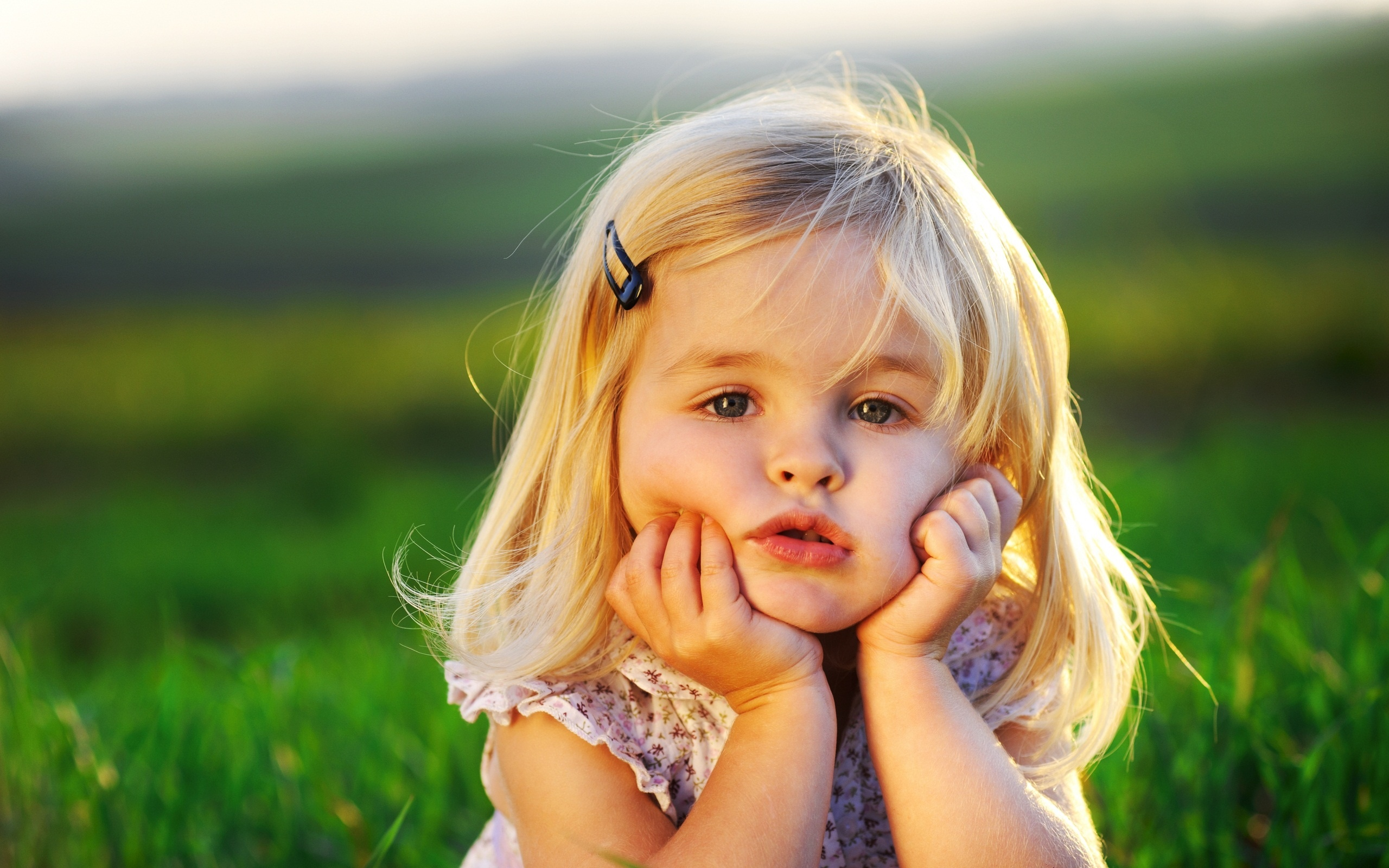 Cute Little Baby Girl Wallpapers HD Wallpapers 2560x1600