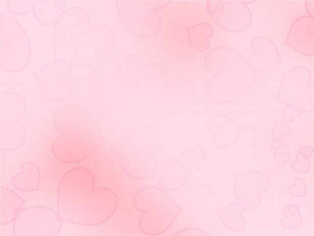 Faded Pink Heart Background by Dawn Hudson 615x461
