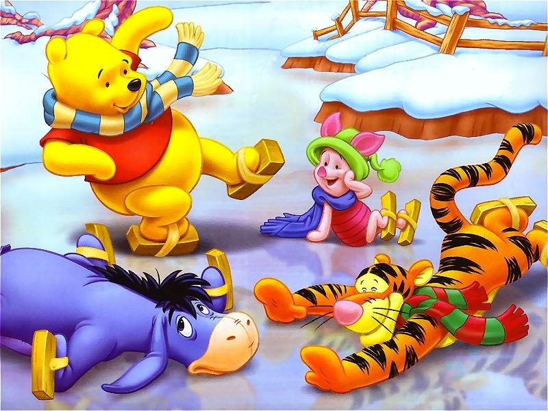 Winnie the Pooh Christmas - Christmas Wallpaper (2735523) - Fanpop