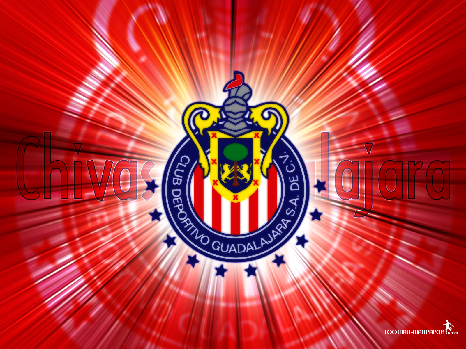 Chivas Wallpaper Soccer 1600x1200