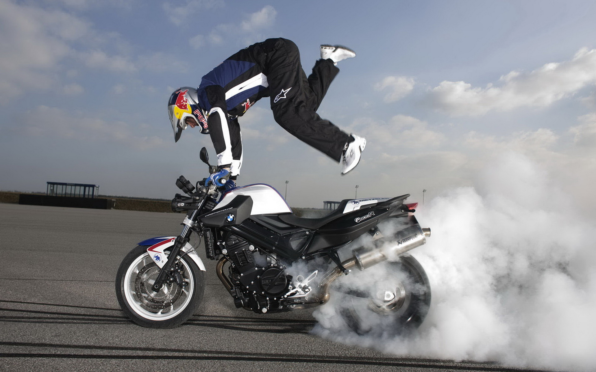 Blue Bike Stunt Hd Wallpaper: WallpaperSafari