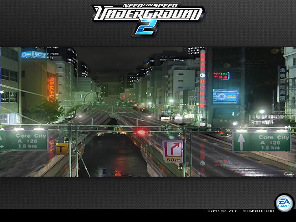 Need for Speed Underground 2   Need for Speed Underground 2 Wallpaper 1024x768