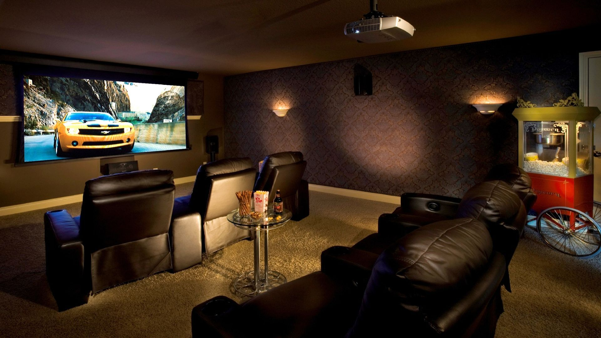 Home theater wallpaper 8677 1920x1080