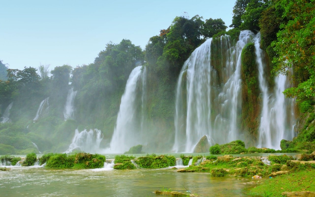 Exotic Waterfall HD Wallpaper Slwallpapers 1280x800