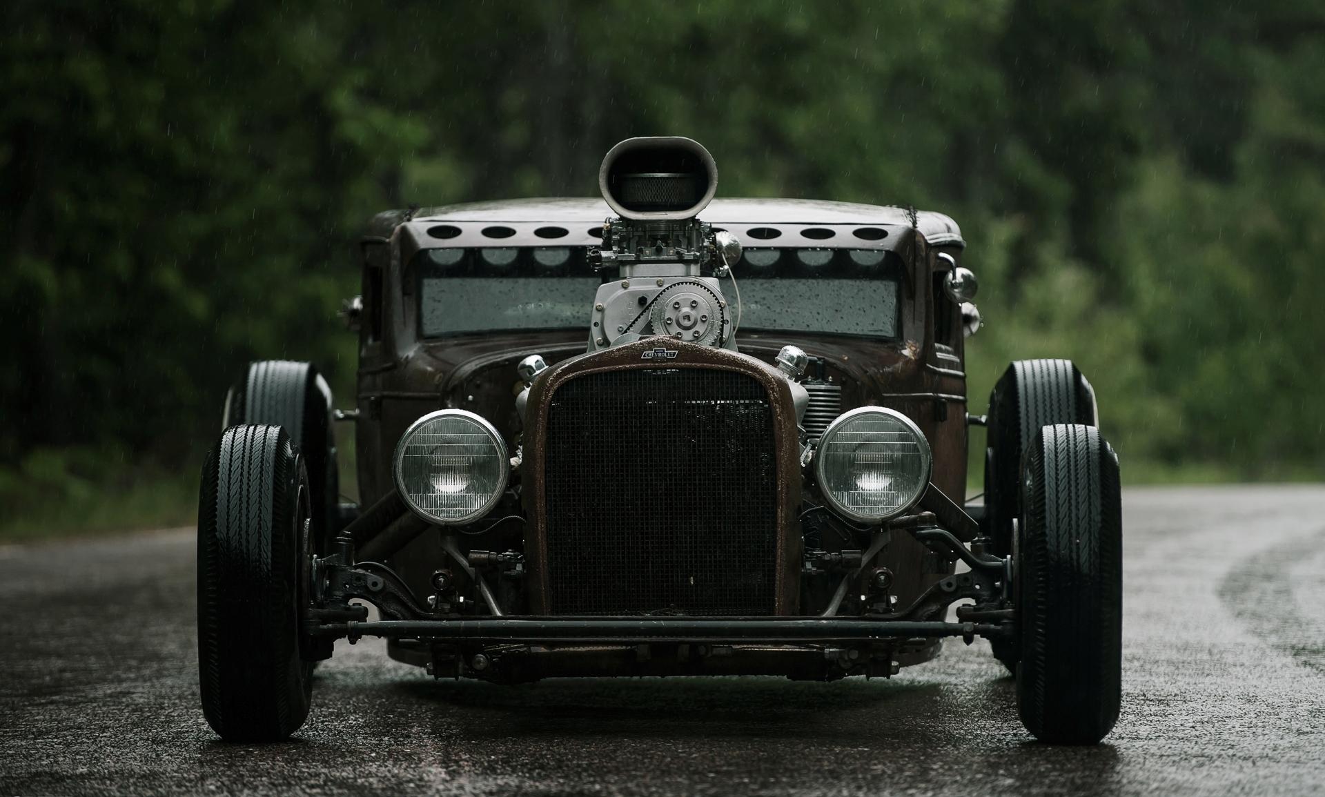 Muscle Car Engines >> Rat Rod Wallpaper Widescreen - WallpaperSafari