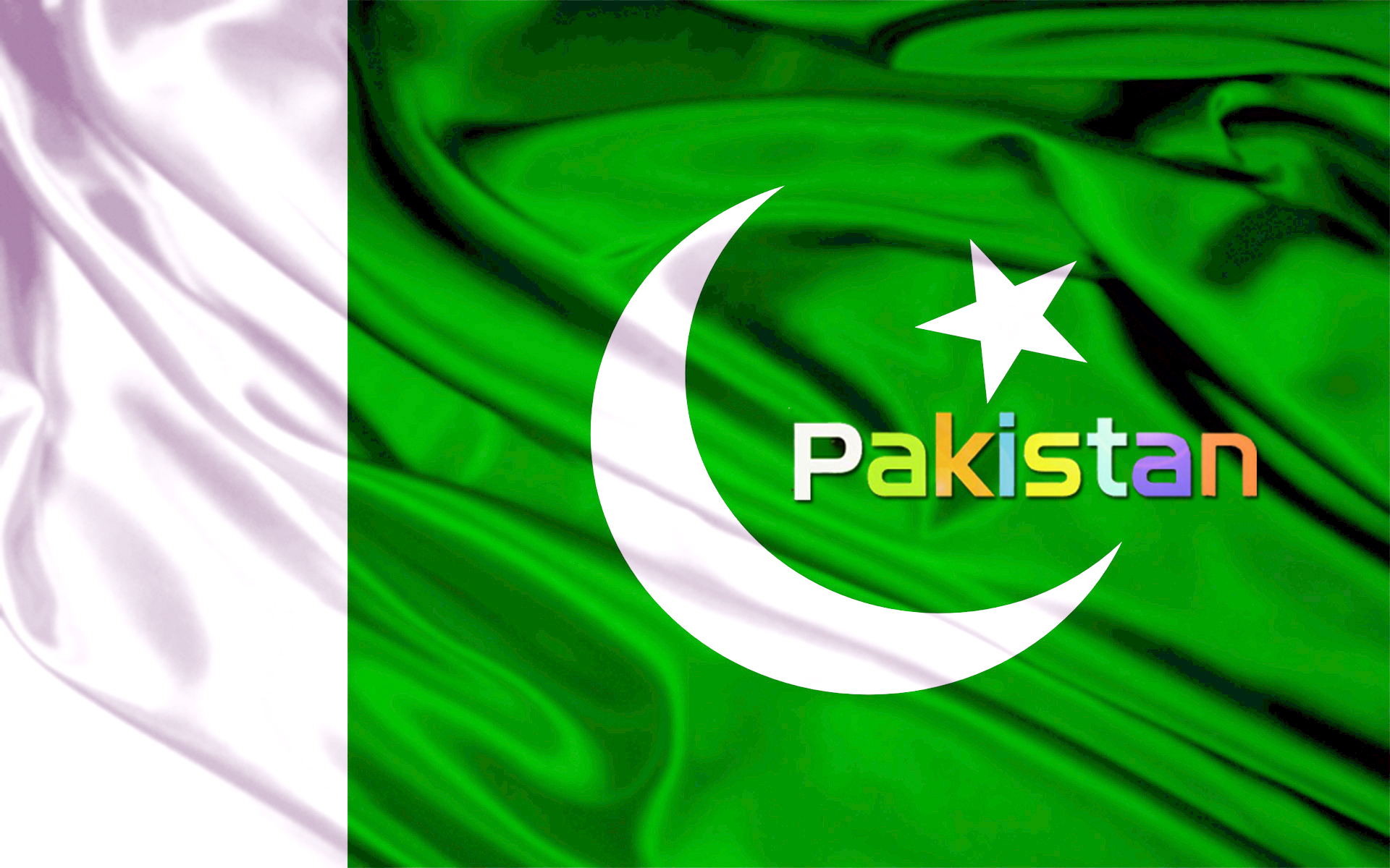Pakistan flags HD Wallpaper 1920x1200