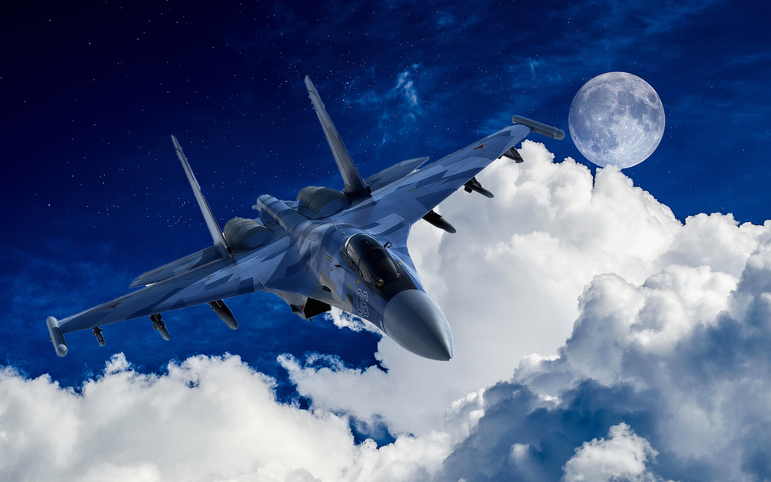 37 Sukhoi Su 35 HD Wallpapers Background Images 2560x1600