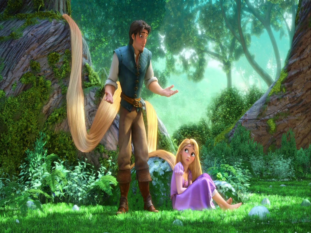 Tangled Wallpaper   Tangled Wallpaper 28834965 1024x768
