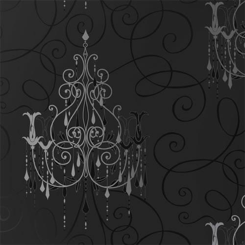 Silver Chandelier Wallpaper WallpaperSafari