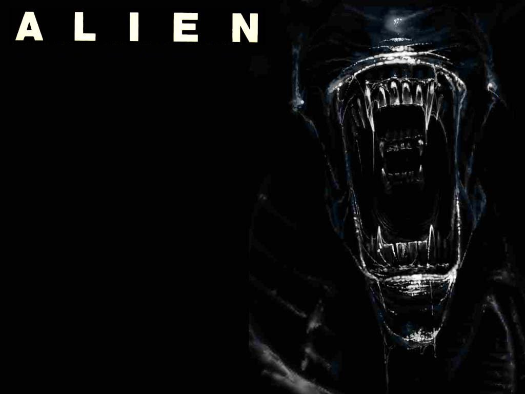 Desktop wallpaper Alien 1024x768